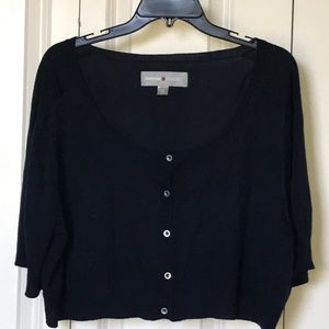 Avenue half-sweater shrug
